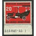Mi. Nr. 211 Unterrandstück postfrisch mit HAN und Formnummer 1