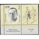 Mi. Nr. 958 Eckrandpaar links unten mit Druckvermerk DV postfrisch