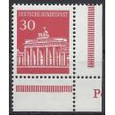 Mi. Nr. 508 Eckrand rechts unten mit Druckerzeichen P postfrisch