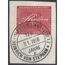 Mi. Nr. 227 zentrisch gestempelt auf Briefstück