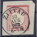 Mi. Nr. 19 gestempelt auf Briefstück Luxus