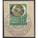 Mi. Nr. 141 zentrisch gestempelt auf Briefstück