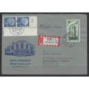 Mi. Nr. 260 senkrechtes Eckrandpaar rechts oben auf portogerechtem Brief gestempelt.