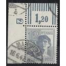 Mi. Nr. 947 im Eckrand links oben mit DZ
