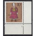 Mi. Nr 571 Eckrand rechts unten Formnummer 1 s2
