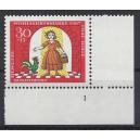 Mi. Nr 540 Eckrand rechts unten Formnummer 1 s4