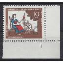 Mi. Nr 538 Eckrand rechts unten Formnummer 2 s6