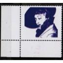Mi. Nr. 1483 FIV Eckrand links unten Farben Rot und Dunkelbauviolett fehlen