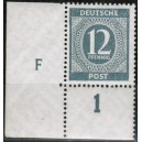 Mi. Nr. 912 Druckerzeichen (DZ) F groß