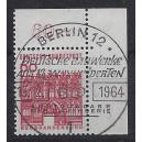 Mi. Nr. 459 im Eckrand rechts oben mit Ersttagssonderstempel Berlin