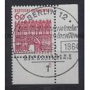 Mi. Nr. 459 im Eckrand rechts unten mit Formnummer 2 und Ersttagssonderstempel Berlin