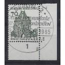 Mi. Nr. 460 im Eckrand rechts unten mit Formnummer 2 und Ersttagssonderstempel Berlin
