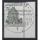 Mi. Nr. 460 im Eckrand rechts unten mit Formnummer 1 und Ersttagssonderstempel Berlin
