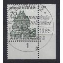 Mi. Nr. 460 im Eckrand rechts unten mit Formnummer 3 und Ersttagssonderstempel Berlin