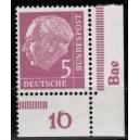 179P Unterrand mit Druckerzeichen Wk postfrisch im Viererblock
