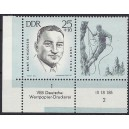 Mi. Nr. 962 Eckrandpaar links unten mit Druckvermerk DV FN 2 postfrisch