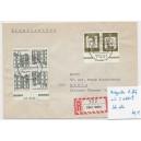 K 2b HAN 515135 1 mit K 5 515135.65 1 auf portogerechtem Einschreibebrief