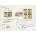K 2b HAN 615054 1 auf portogerechtem Brief