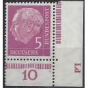 179P Eckrand rechts unten mit Druckerzeichen Ld postfrisch