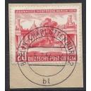 116 auf Briefstück Luxus gestempelt