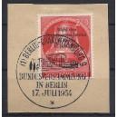 118 auf Briefstück mit Ersttagssonderstempel Berlin Charlottenburg.