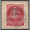 118 auf Briefstück mit perfekt zentrischem Berlinstempel! Luxus!!