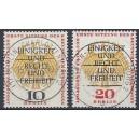 Mi. Nr. 174-175 zentrisch mit Berlin Charlottenburg gestempelt Luxus