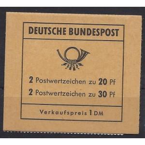 Markenheftchen 14 f postfrisch