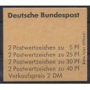 Markenheftchen 19 a RLV III postfrisch