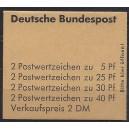 Markenheftchen 19 b RLV II postfrisch