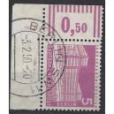 Mi. Nr. 141 v Eckrandviererblock rechts unten