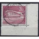 Mi. Nr. 154 im Eckrand rechts unten mit Formnummer 1 zentrisch Luxus gestempelt.