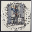 Mi. Nr 120a mit Berliner Sonderstempel Charlottenburg entwertet auf Briefstück.