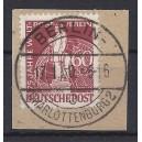 Mi. Nr 39 zentrisch gestempelt Luxus auf Briefstück