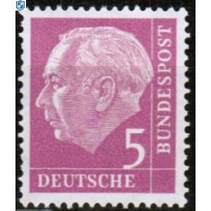 Mi Nr 179w Glatter Gummi Selten Baumeister Briefmarken