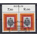 Mi. Nr 385 Oberrandpaar mit Berliner Sonderstempel.