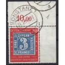 Mi. Nr 114 II im Eckrand rechts oben gestempelt