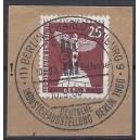 Mi. Nr 147 Luxus gestempelt auf Briefstück