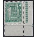 Mi. Nr. 44 Eckrand rechts unten postfrisch mit seltenem Druckerzeichen Lo
