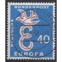 Mi. Nr. 296 zentrisch gestempelt Berlin Charlottenburg