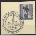 120a mit Berliner Ersttagssonderstempel Charlottenburg auf Briefstück