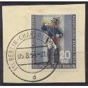 120a mit Berliner Versandstellenstempel Charlottenburg auf Briefstück