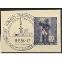 120a mit Berliner Sonderstempel Charlottenburg auf Briefstück