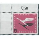 Mi. Nr. 205 Va im Eckrand links oben postfrisch mit Plf