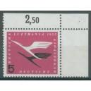 Mi. Nr. 205 im Eckrand rechts oben durchgezähnt postfrisch