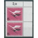 Mi. Nr. 205 im Eckrandpaar rechts oben durchgezähnt postfrisch