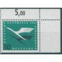 Mi. Nr. 206 im Eckrand rechts oben mit A-Zähnung postfrisch
