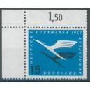 Mi. Nr. 207 im Eckrand links oben mit Ama-Zähnung postfrisch