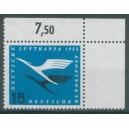 Mi. Nr. 207 im Eckrand rechts oben mit Ama-Zähnung postfrisch