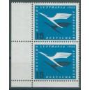 Mi. Nr. 207 im Eckrandpaar links unten mit A-Zähnung postfrisch